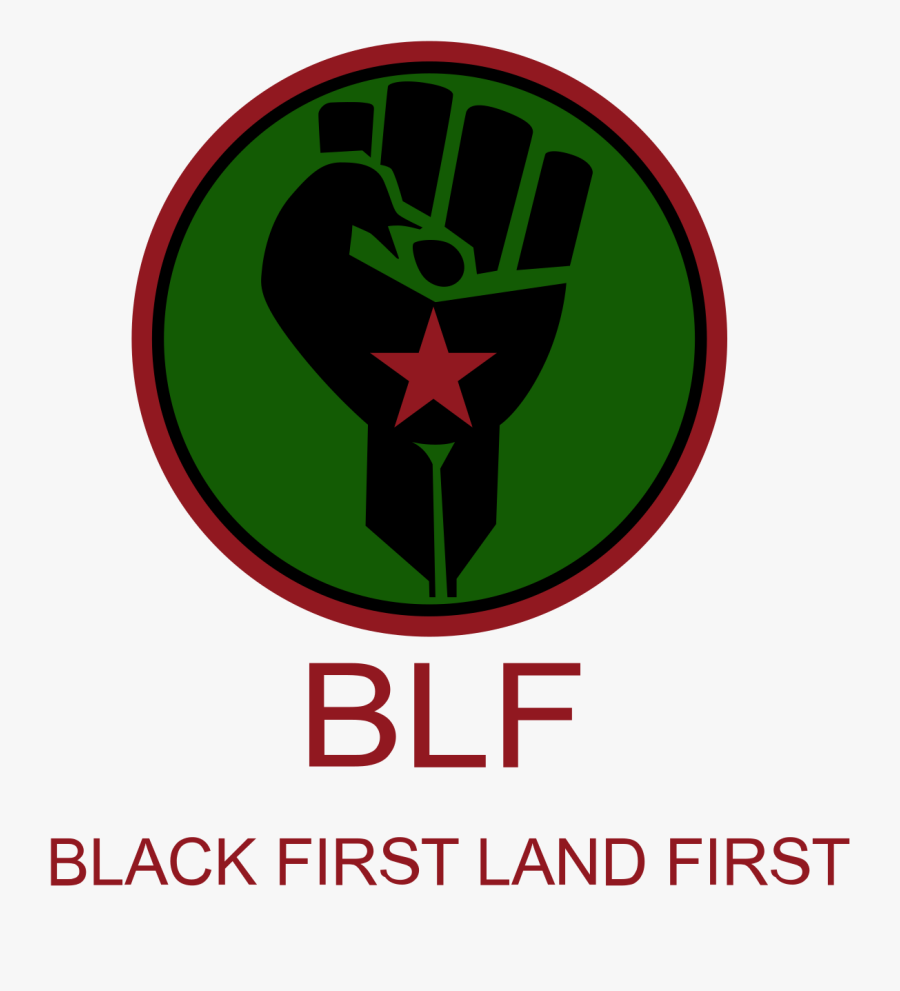 Black First Land First, Transparent Clipart