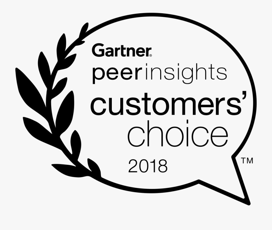 Gartner Peer Insights Customer Choice, Transparent Clipart