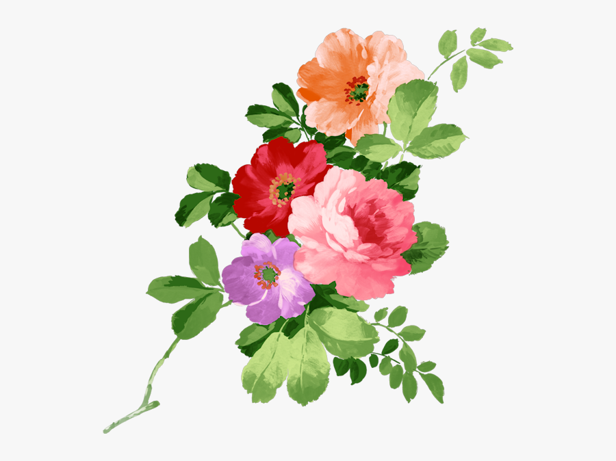 Flowers For Mrs Gof - Happy Birthday Flowers Png, Transparent Clipart