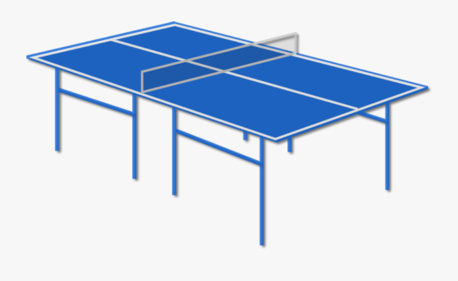 Table Tennis Table Clip Art, Transparent Clipart