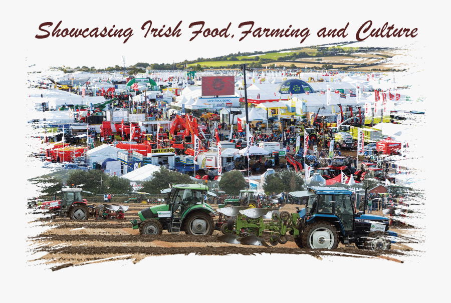 Tractor - National Ploughing Championships 2018, Transparent Clipart