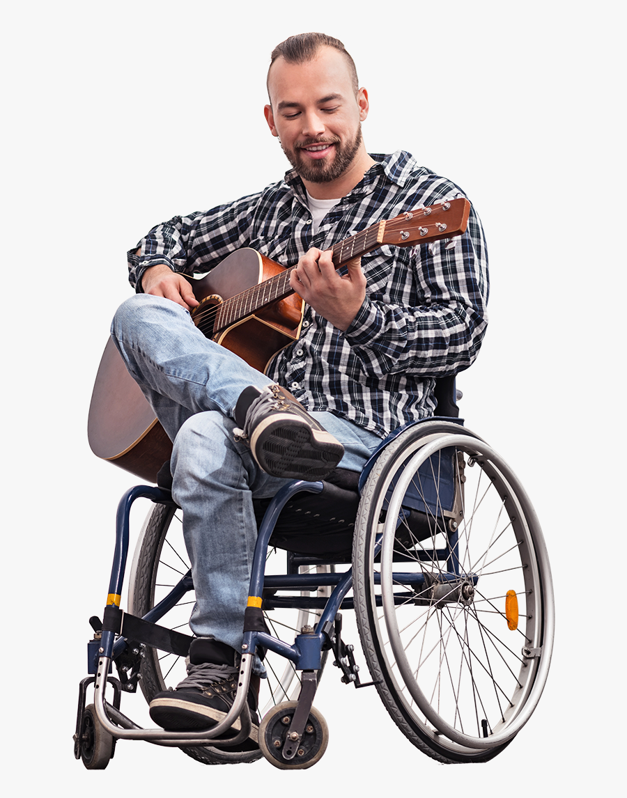 Wheelchair-sports - Person In Wheelchair Png, Transparent Clipart
