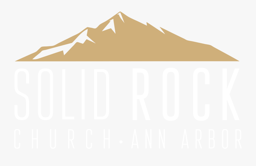 Solid Rock Church - Illustration, Transparent Clipart