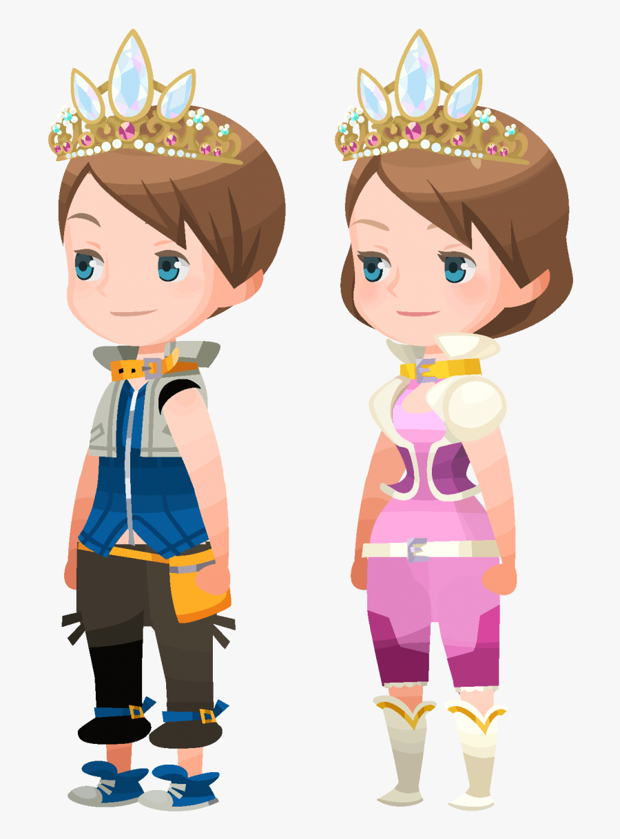 Kingdom Hearts Crown Png -[khux] 2019 - Kingdom Hearts Union X Avatar Outfits, Transparent Clipart