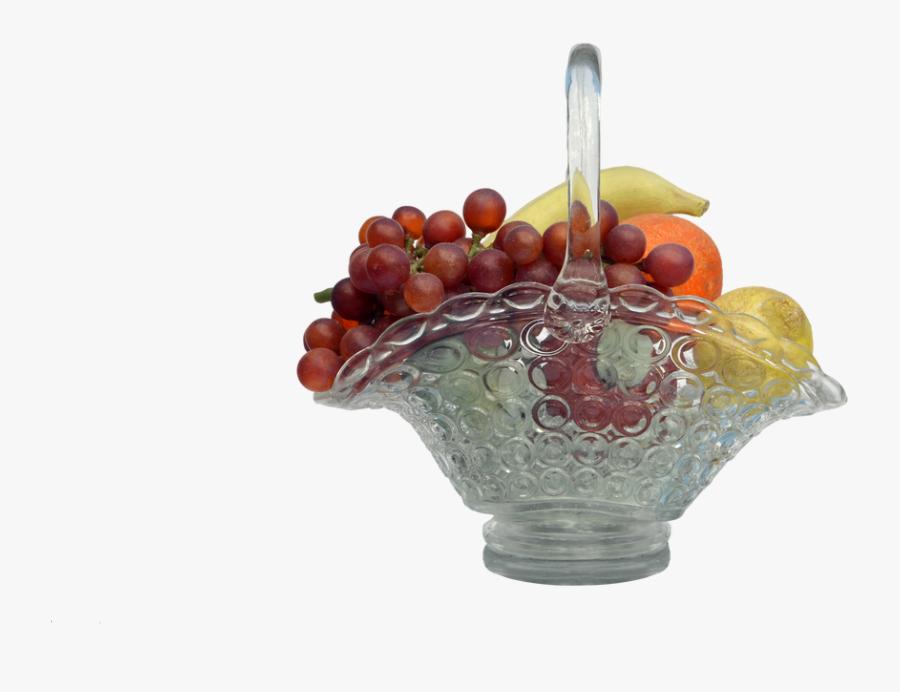 Bowl Of Fruit Png - Grape, Transparent Clipart
