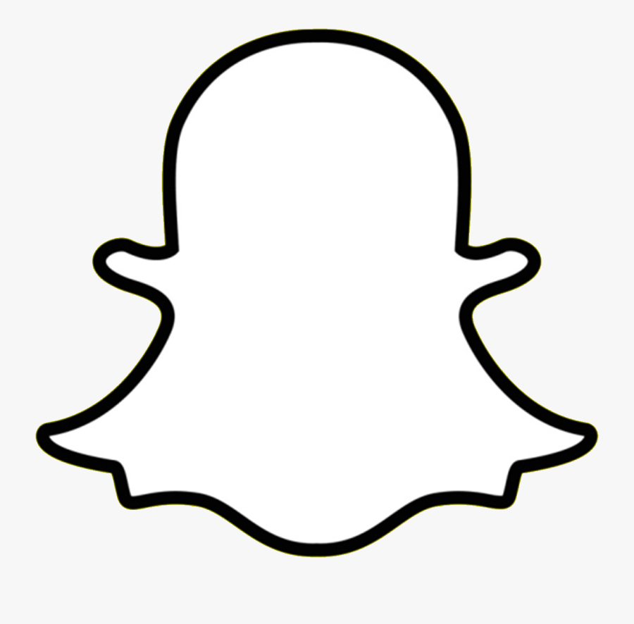 Snapchat Icon White Png Free Transparent Clipart Clipartkey