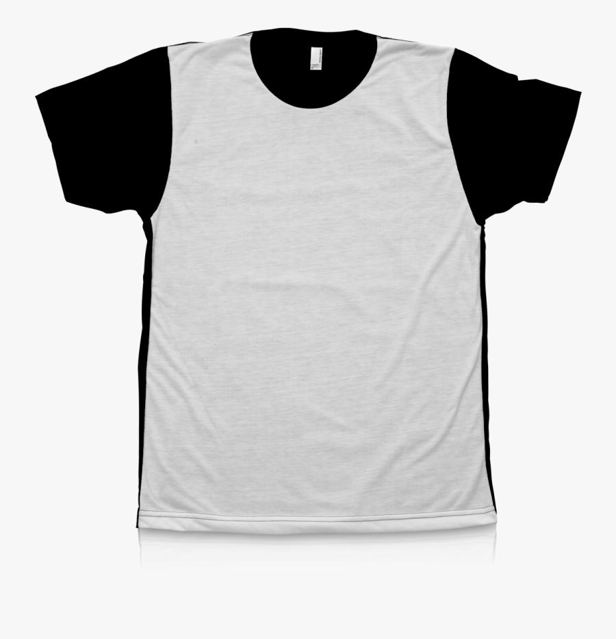 Active Shirt , Transparent Cartoons - Sublimation Black Shirt Blank, Transparent Clipart
