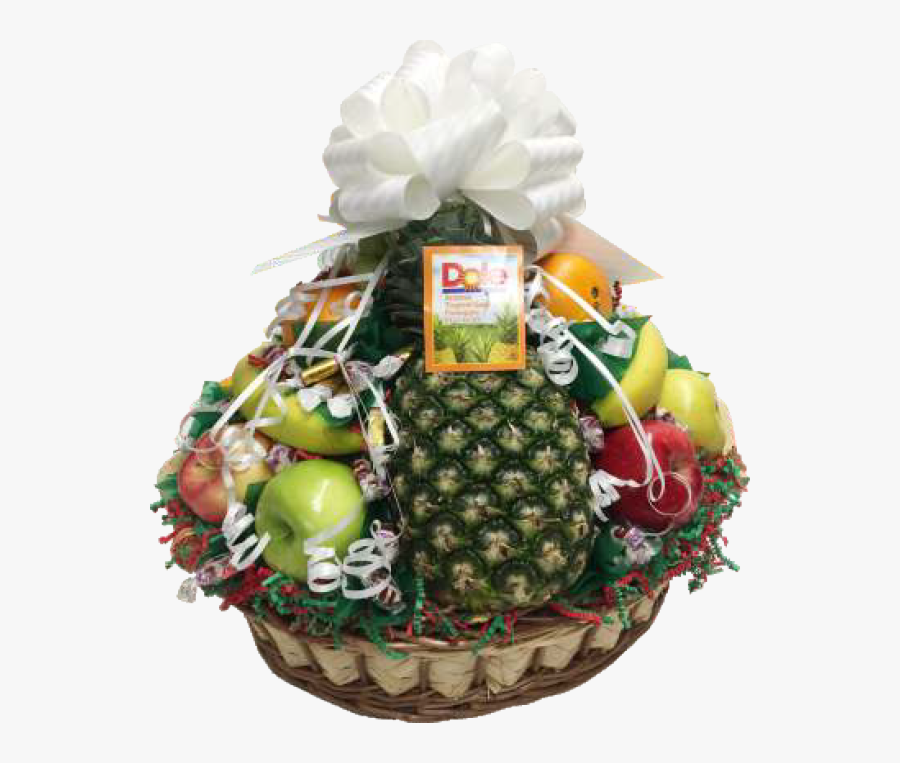 Transparent Basket Png - Fruit, Transparent Clipart