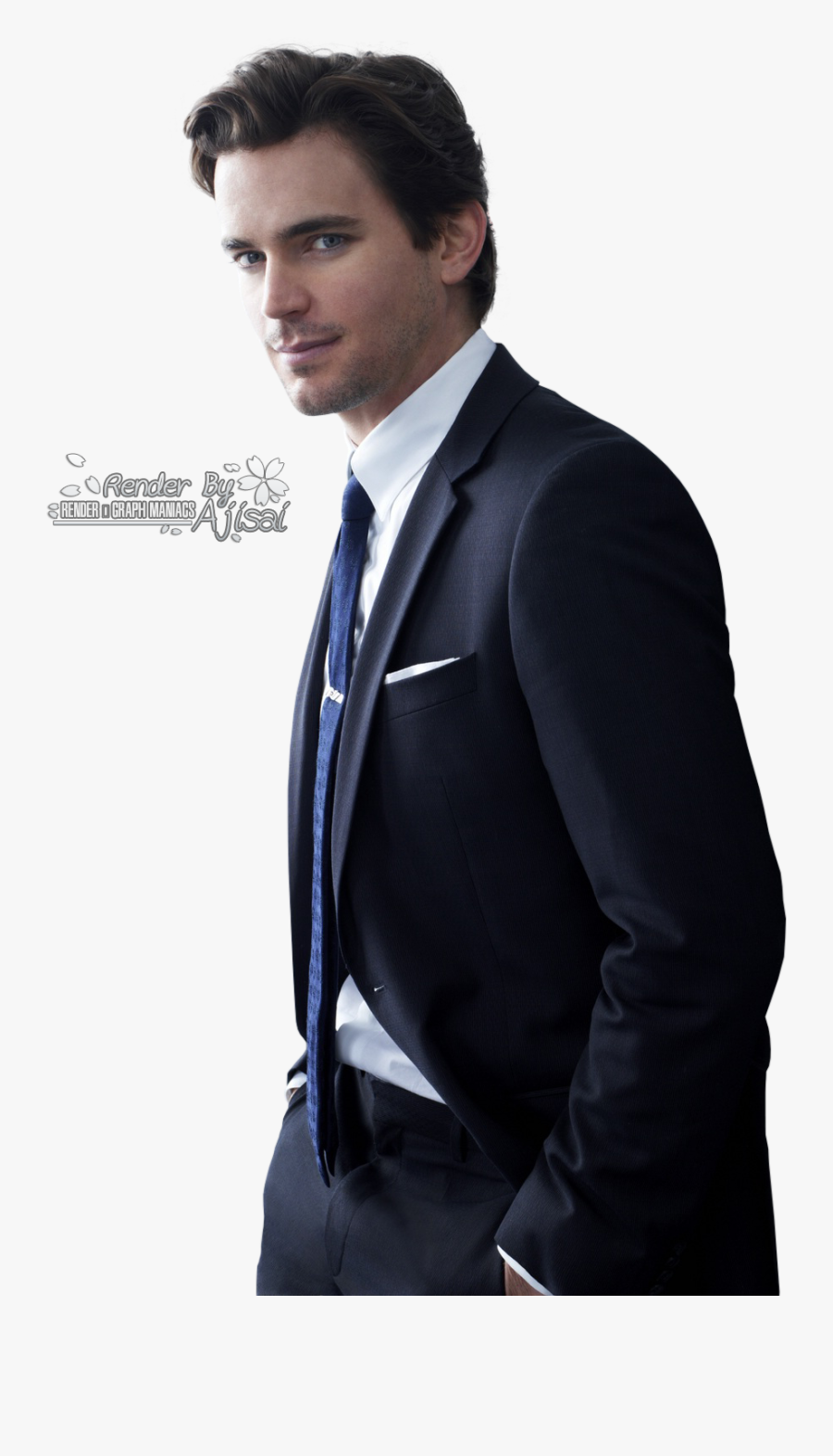 Clip Art Hot Guys In Suits - Neal Caffrey, Transparent Clipart