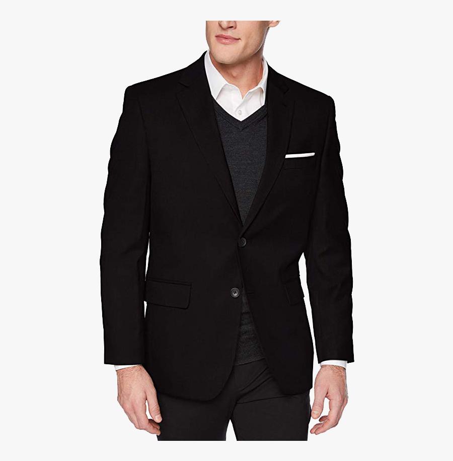 "Haggar""s Classic Fit Suit Jacket - Classic Fit Jm Haggar Suit, Transparent Clipart"