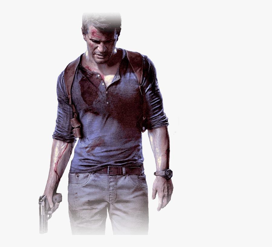 Transparent Modern Warfare Remastered Png - Nathan Drake Uncharted 4 Png, Transparent Clipart