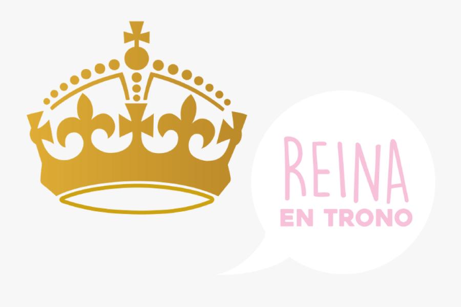Transparent Trono Png - Keep Calm And Carry, Transparent Clipart