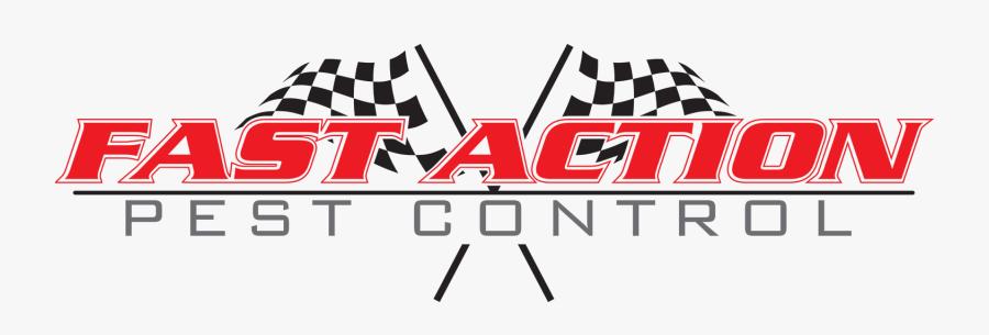 Fast Action Pest Control - Fast Action Logo, Transparent Clipart
