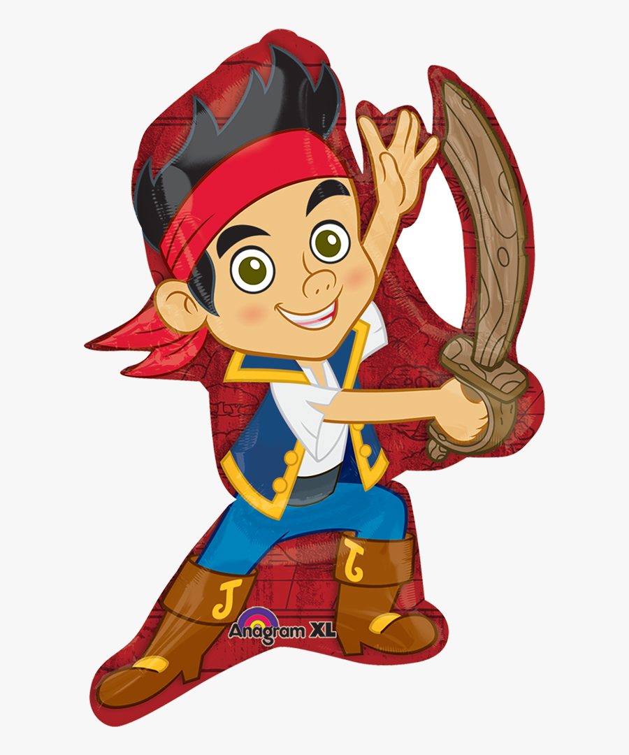 Transparent Jake And The Neverland Pirates Png - Balloons Jake, Transparent Clipart