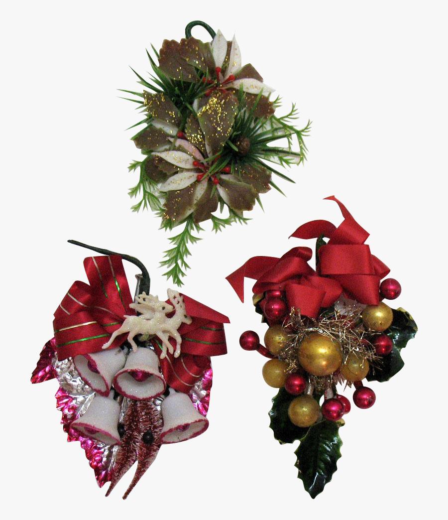 Vintage Christmas Ornaments Png - Vintage Real Christmas Ornament Png, Transparent Clipart
