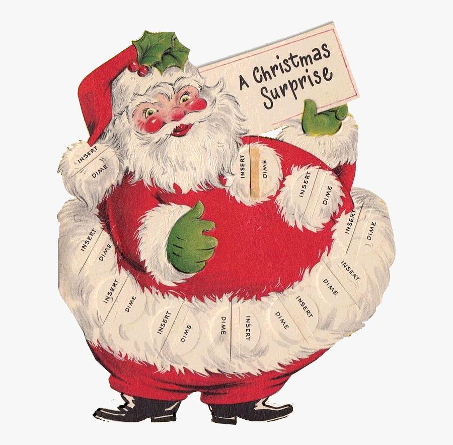 Pin By Nata A - Santa Claus, Transparent Clipart