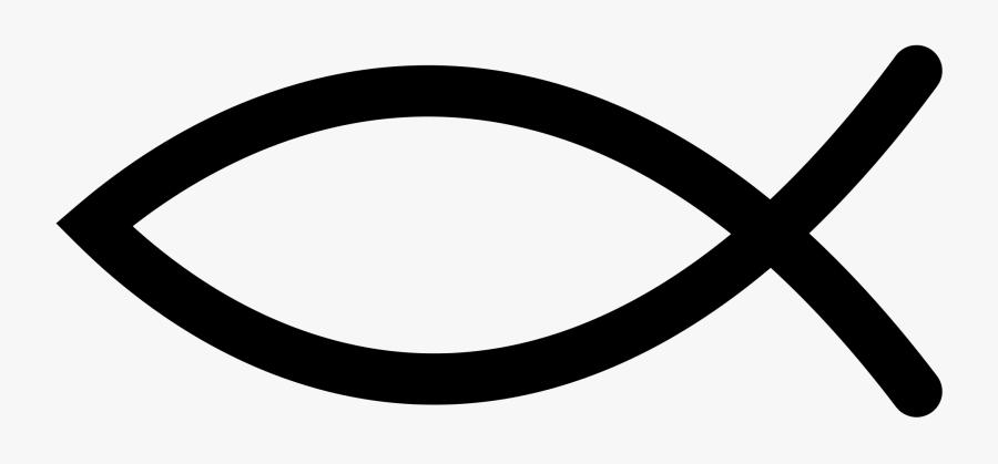 File - Ichys - Svg - Jesus Fish Clipart , Png Download - Christian Fish Symbol Png, Transparent Clipart