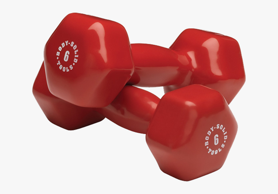 Weight Clipart Dumbles - Body Solid 3 Pair Vinyl Dumbbell Package Gdr10 Pack, Transparent Clipart