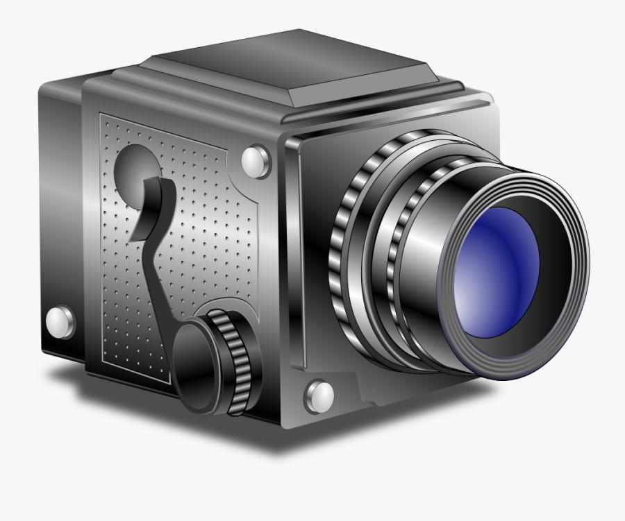 Multimedia,digital Camera,cameras Optics - 35mm Film Motion Picture Camera Clipart, Transparent Clipart