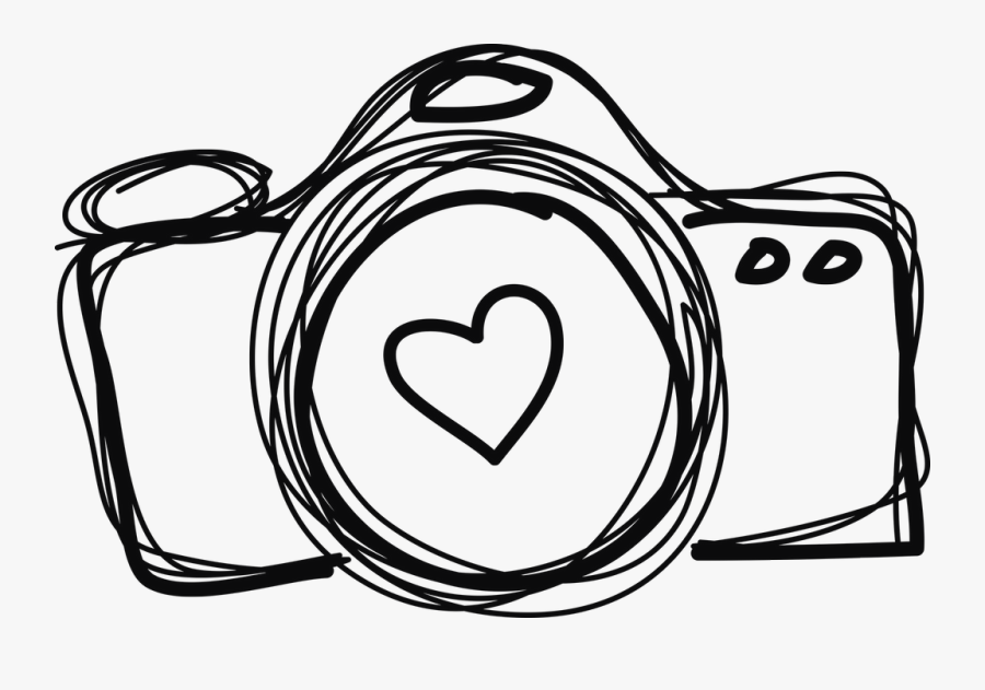 Collection Of Free Camera Drawing Simple Download On - Simple Camera Drawing Png, Transparent Clipart