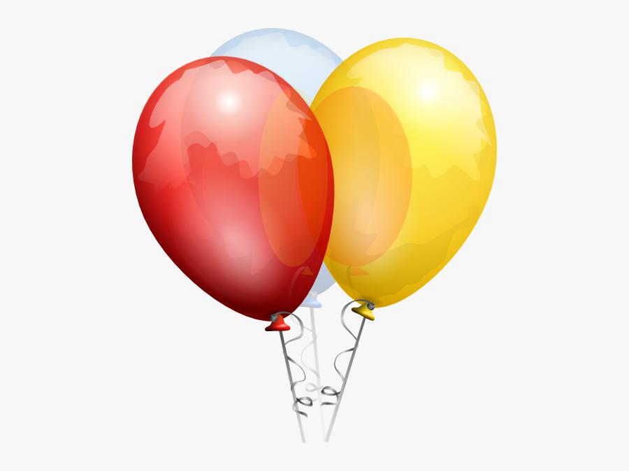 Birthday Balloon No Background, Transparent Clipart