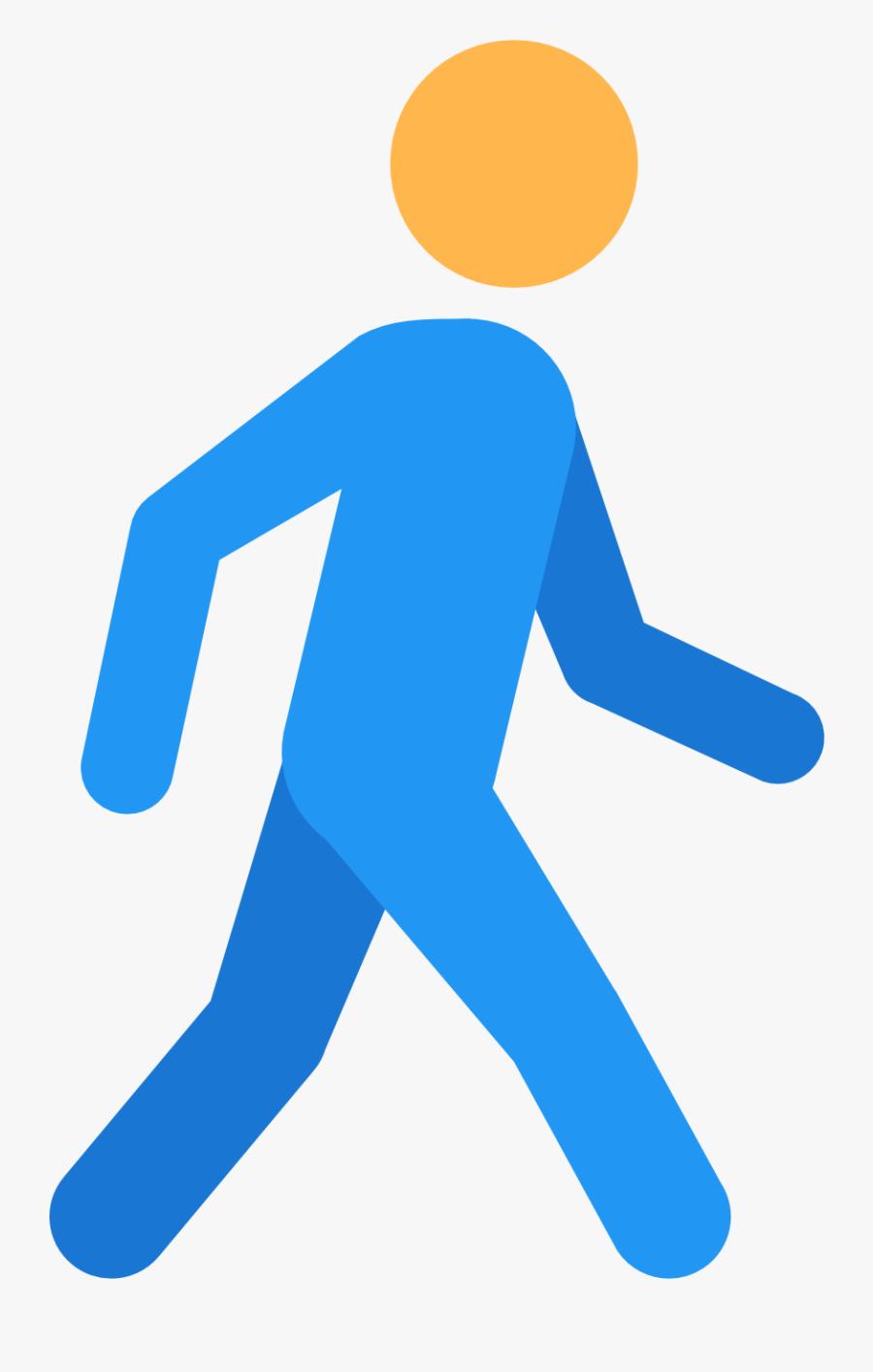 People Clipart Walking Stick Figure - Walk Png, Transparent Clipart