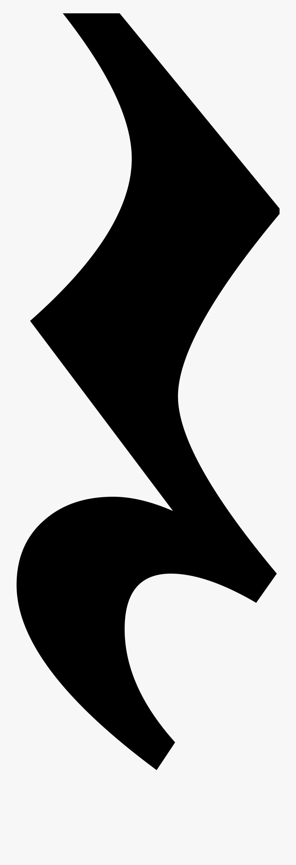 Quarter Rest Music Symbol , Free Transparent Clipart - ClipartKey