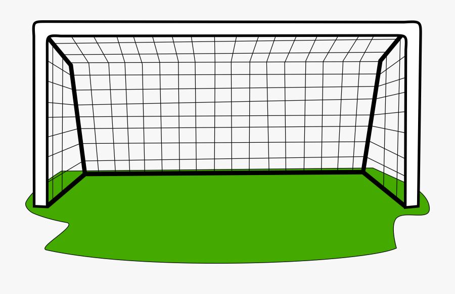 Clip Art Football Panda - Soccer Goal Clipart Free, Transparent Clipart