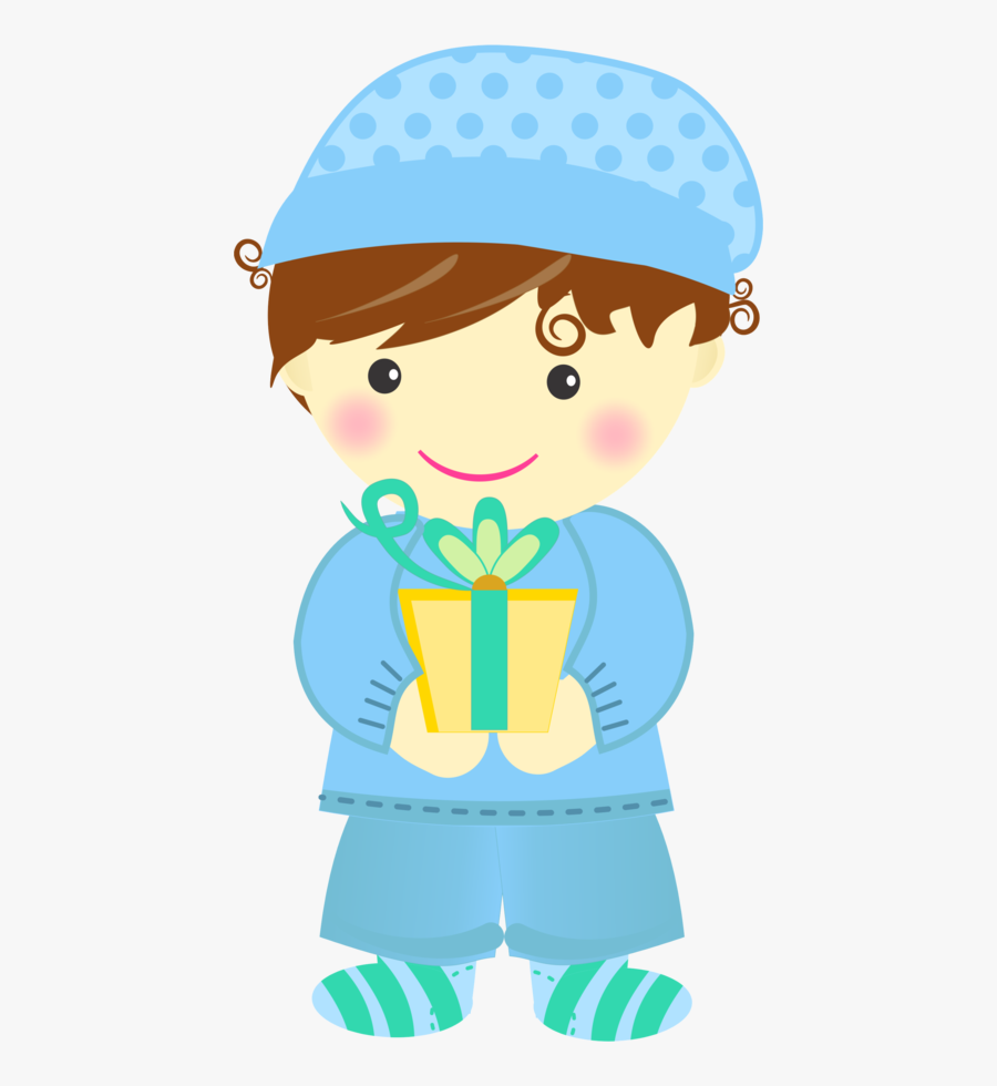 Pin By Pic Pic Festas On Baby Boy - Baby Boy First Birthday Clipart, Transparent Clipart