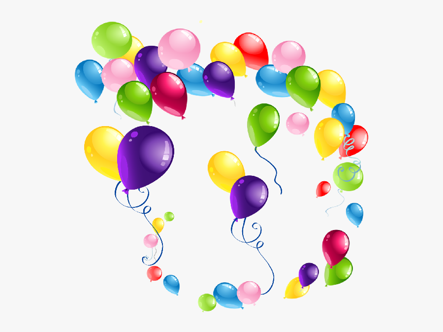 Transparent Purple Balloons Png - Birthday Balloon Background Png, Transparent Clipart