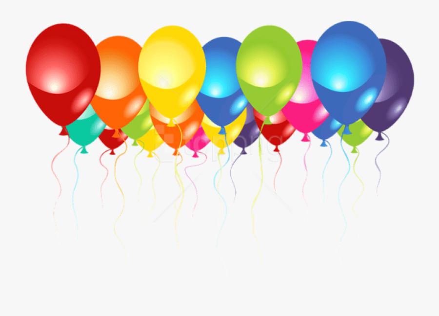 Download Transparent Balloons Images Transparent Background - Transparent Background Birthday Balloons, Transparent Clipart