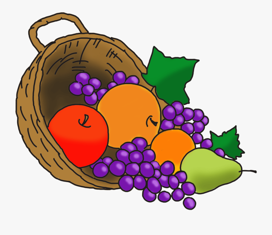 Happy Thanksgiving Clipart Vector Freeuse Download - Thanksgiving Fruit Clip Art, Transparent Clipart