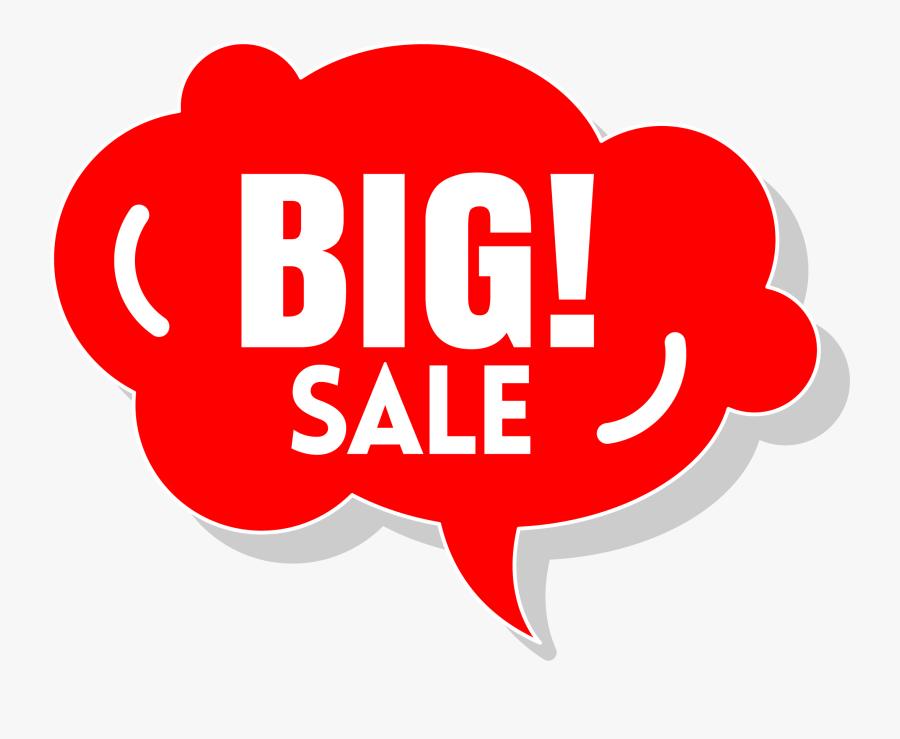 Sale Clipart - Big Sale Art Png, Transparent Clipart