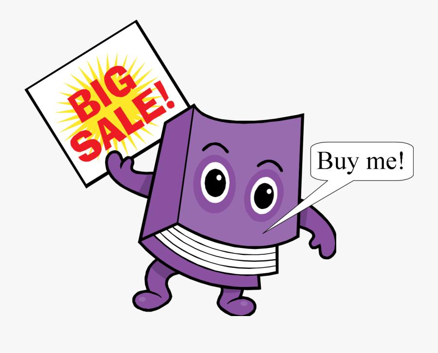 Book Sale, Transparent Clipart