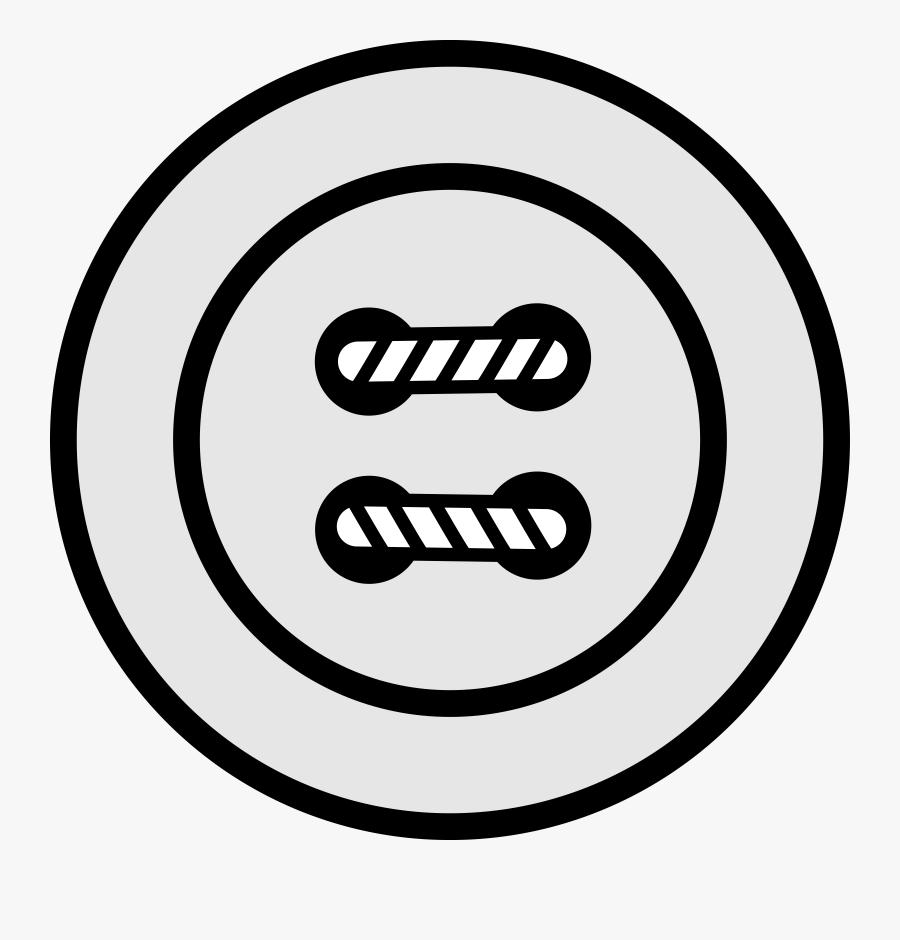 Clipart Simple 4h Button - Button Black And White, Transparent Clipart