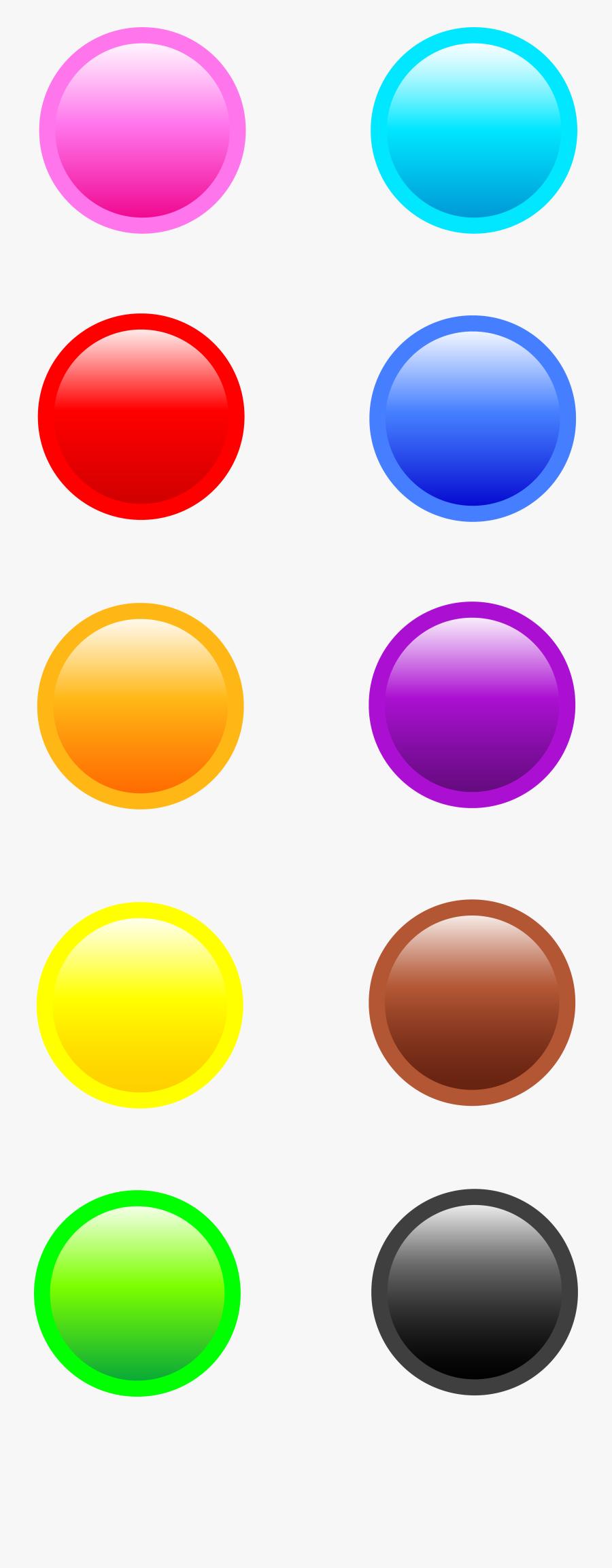 Button Clipart Website Png - Ten Buttons Clipart, Transparent Clipart
