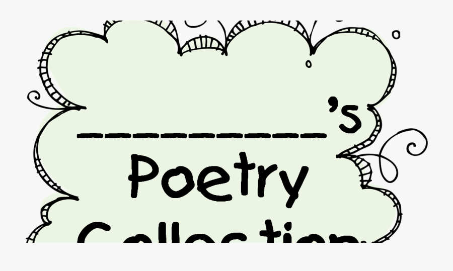 Transparent Poet Clipart - Poetry Collection Cover Page, Transparent Clipart