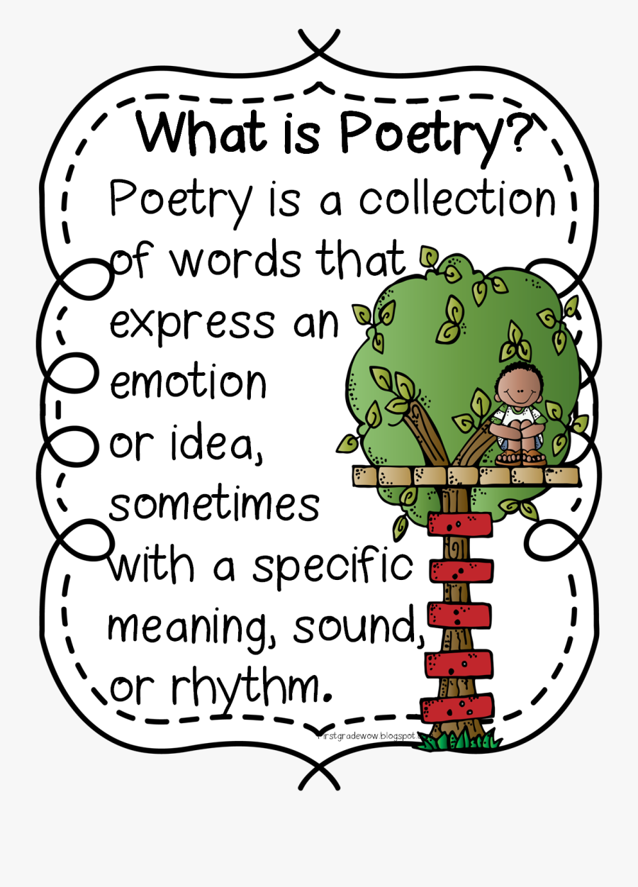 Poetry Clipart Review - Poems Clipart For Kids, Transparent Clipart