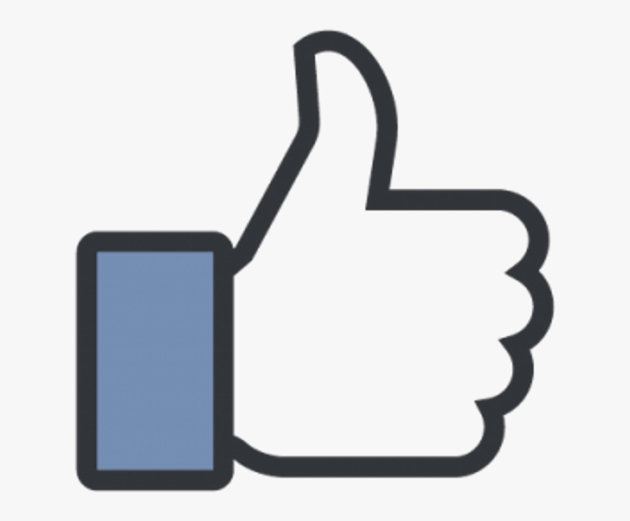 Facebook Like Button Clipart , Png Download - Transparent Facebook Thumbs Up, Transparent Clipart
