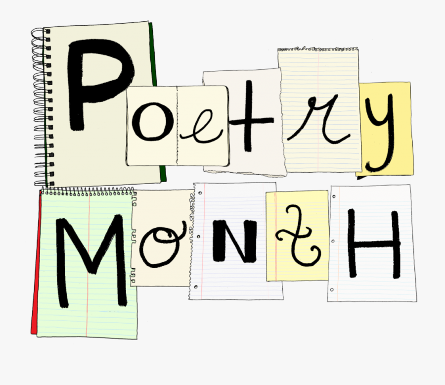 National Poetry Month Png, Transparent Clipart