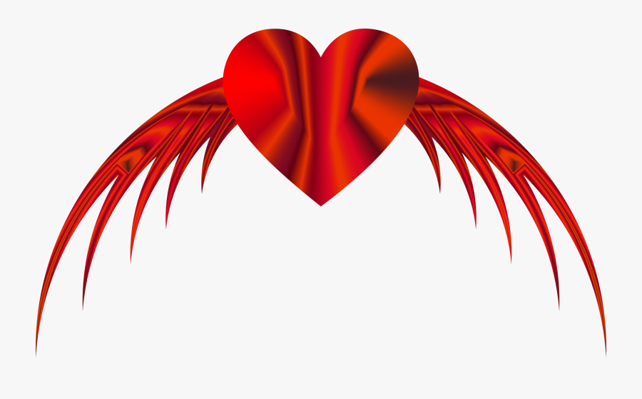 Flying Heart Png Clip - Flying Heart Png, Transparent Clipart