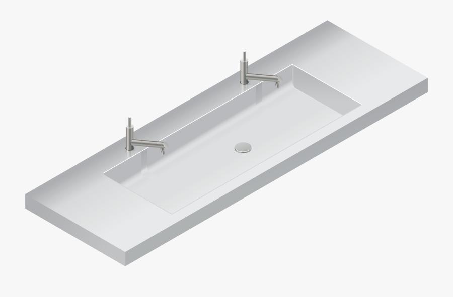 Double Sink Png Clip Art - Transparent Sink Png, Transparent Clipart