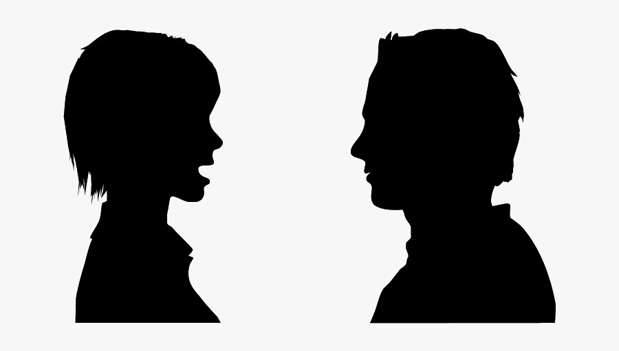 People Speaking Cliparts - Person Talking Transparent, Transparent Clipart
