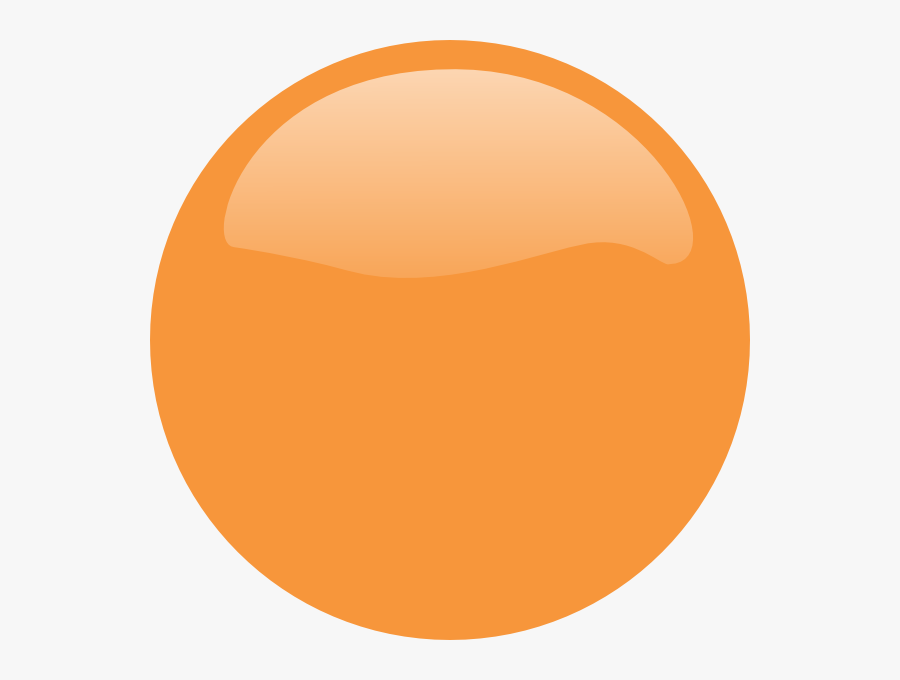 Buttons Clipart Rounded - Orange Circle Logo Png, Transparent Clipart