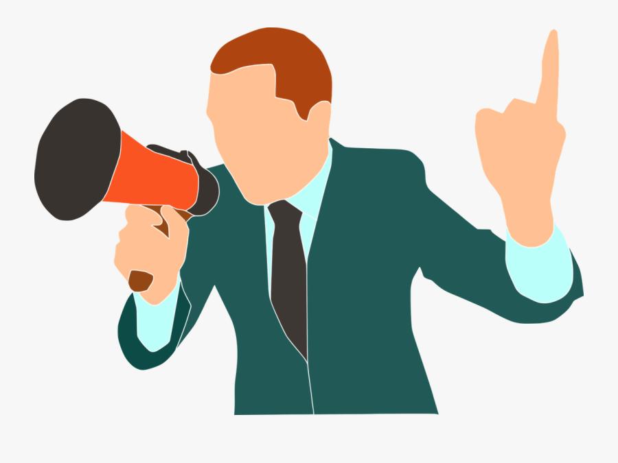 Creative Speaking - Persuasive Speech Clipart, Transparent Clipart