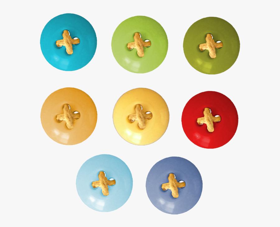 Button, Transparent Clipart