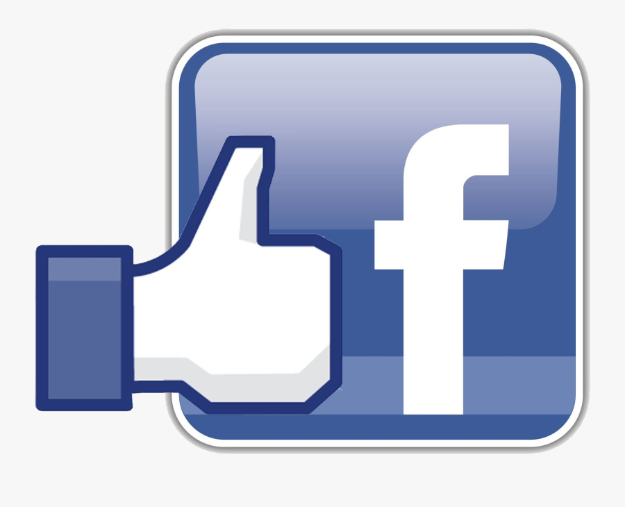 Facebook Logo Png Like Button Clipart Image - Logo Facebook Like Png, Transparent Clipart
