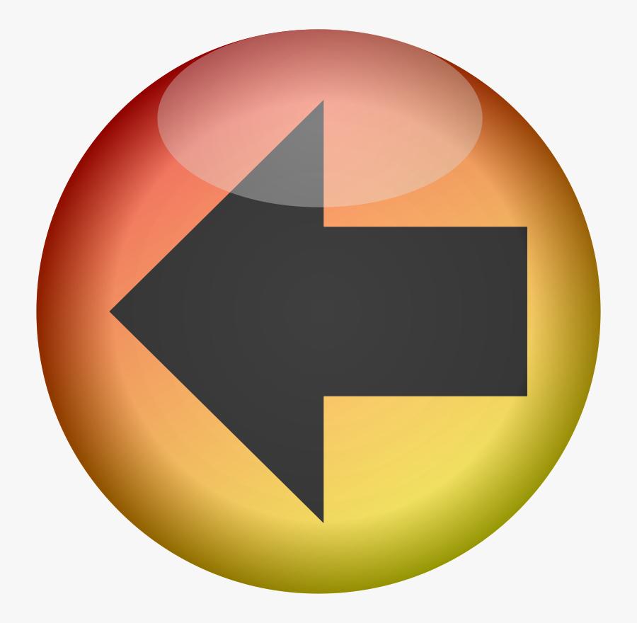 Back Button - Back Button Small Icon, Transparent Clipart