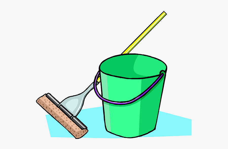 Cartoon Mop And Bucket Clipart , Png Download - Bucket Head Minute To Win, Transparent Clipart
