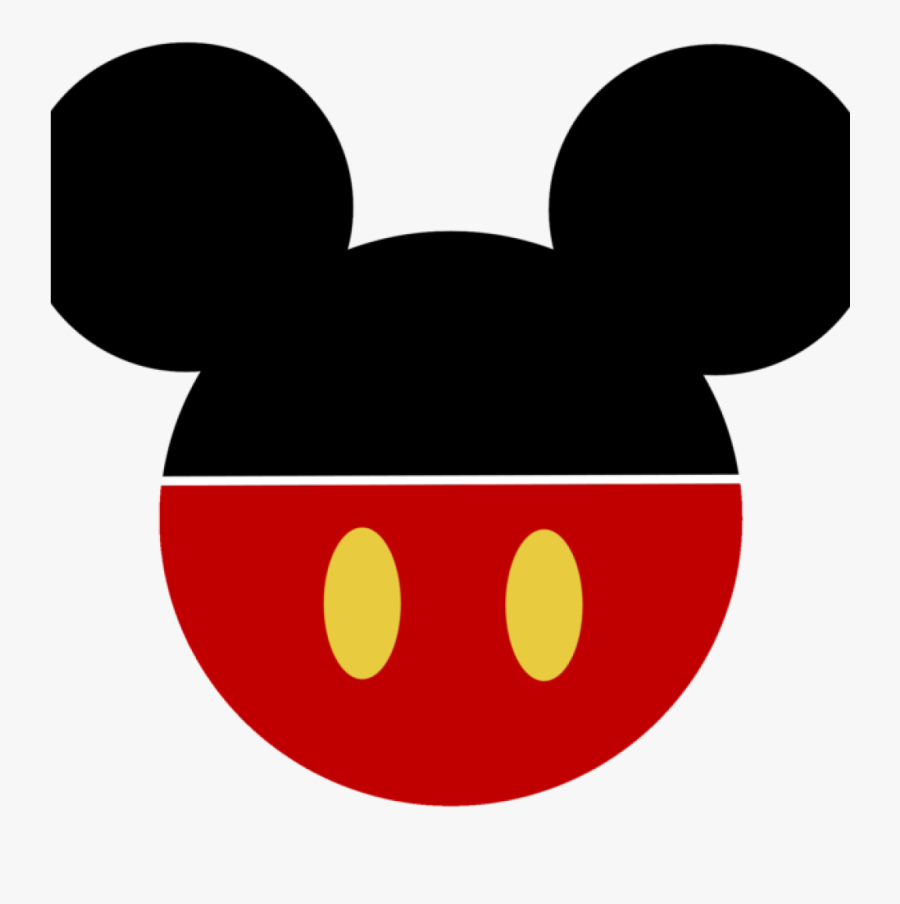 Mickey Ears Clipart For Printable - Disney Mickey Mouse Head, Transparent Clipart